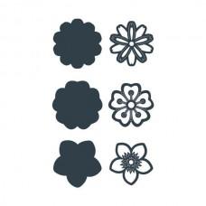The Paper Boutique Floral Embellishments