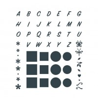 The Paper Boutique - Beyond Alphabet Die Collection