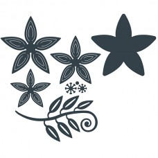 The Paper Boutique - Perfect Posies Starflower Craft Die