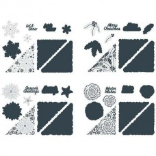 The Paper Boutique - Winter Wonders - Corner Die Bundle