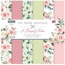 The Paper Boutique - A Bouquet of Sunshine 8x8 Paper Pad