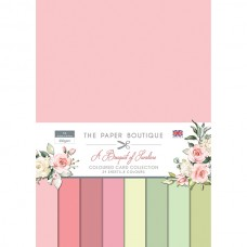 The Paper Boutique - A Bouquet of Sunshine Colour Card Collection