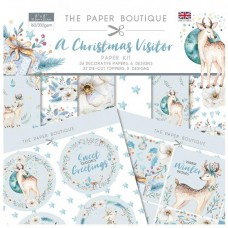 The Paper Boutique - A Christmas Visitor Paper Kit