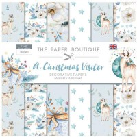 The Paper Boutique - A Christmas Visitor 8x8 Paper Pad