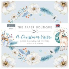 The Paper Boutique - A Christmas Visitor 5x5 Sentiments Pad