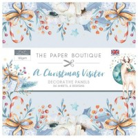 The Paper Boutique - A Christmas Visitor 7x7 Panel Pad
