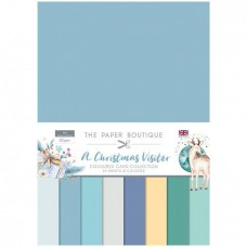 The Paper Boutique - A Christmas Visitor Colour Card Collection