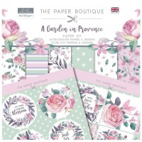 The Paper Boutique - A Garden in Provence Paper Kit
