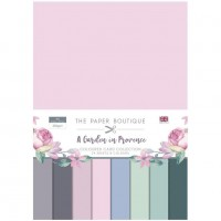 The Paper Boutique - A Garden in Provence Colour Card Collection
