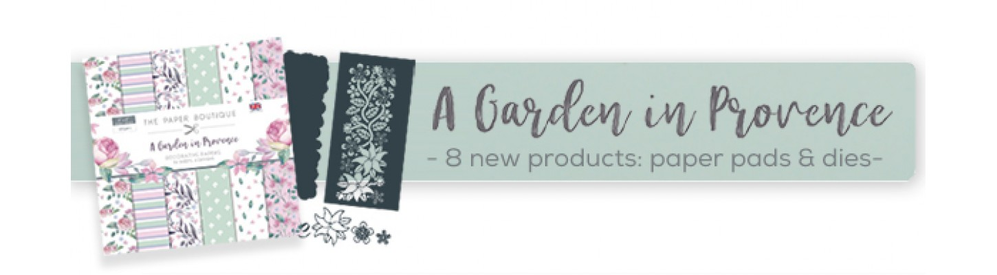 Garden in Provence from The Paper Boutique