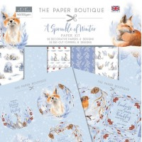 The Paper Boutique - A Sprinkle of Winter - Paper Kit