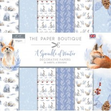 The Paper Boutique - A Sprinkle of Winter - 8x8 Paper Pad