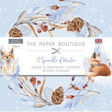 The Paper Boutique - A Sprinkle of Winter - 5x5 Sentiments Pad