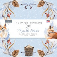 The Paper Boutique - A Sprinkle of Winter 7x7 Panel Pad