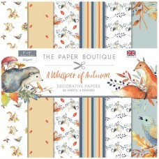 The Paper Boutique - A Whisper of Autumn 8x8 Paper Pad