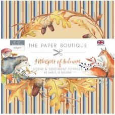 The Paper Boutique - A Whisper of Autumn 5x5 Sentiments Pad