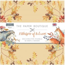 The Paper Boutique - A Whisper of Autumn 7x7 Panel Pad