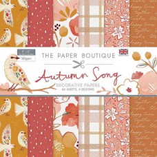The Paper Boutique - Autumn Song 8×8 Paper Pad
