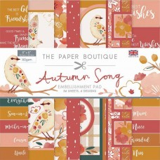 The Paper Boutique - Autumn Song 8×8 Embellishments Pad