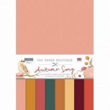 The Paper Boutique - Autumn Song Colour Card Collection