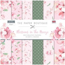 The Paper Boutique - Blossoms in the Breeze 8x8 Paper Pad