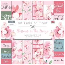 The Paper Boutique - Blossoms in the Breeze 8x8 Embellishments Pad