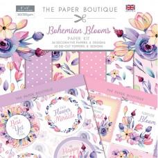 The Paper Boutique - Bohemian Blooms Paper Kit