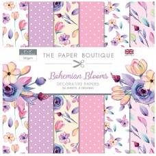 The Paper Boutique - Bohemian Blooms 8x8 Paper Pad