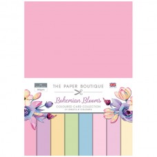 The Paper Boutique - Bohemian Blooms Colour Card Collection