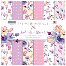 The Paper Boutique - Bohemian Blooms 6x6 Paper Pad