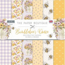 The Paper Boutique - Bumblebee's Dance 8×8 Paper Pad