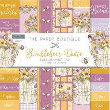 The Paper Boutique - Bumblebee's Dance 8×8 Embellishments Pad