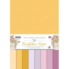 The Paper Boutique - Bumblebee's Dance Colour Card Collection