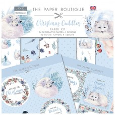 The Paper Boutique - Christmas Cuddles Paper Kit
