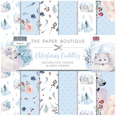 The Paper Boutique - Christmas Cuddles 8x8 Paper Pad