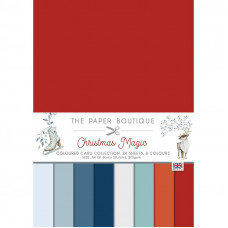 The Paper Boutique - Christmas Magic Colour Card Collection