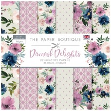 The Paper Boutique - Damask Delights 8×8 Paper Pad