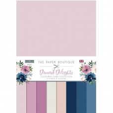The Paper Boutique - Damask Delights Colour Card Collection