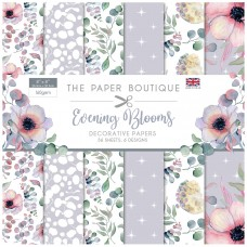 The Paper Boutique - Evening Blooms 8×8 Paper Pad