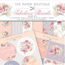 The Paper Boutique - Fabulous Florals Paper Kit
