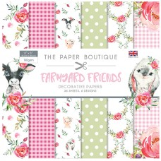 The Paper Boutique - Farmyard Friends 8x8 Paper Pad