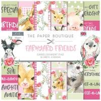 The Paper Boutique - Farmyard Friends 8x8 Embellishments Pad