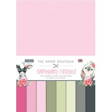 The Paper Boutique - Farmyard Friends Colour Card Collection