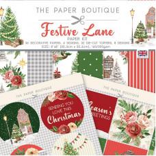 The Paper Boutique - Festive Lane Paper Kit