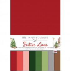 The Paper Boutique - Festive Lane Colour Card Collection
