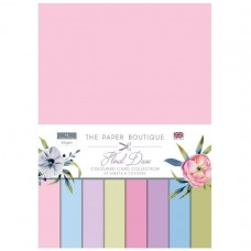 The Paper Boutique - Floral Daze - Colour Card Collection