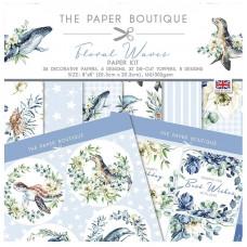 The Paper Boutique - Floral Waves Paper Kit