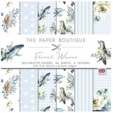 The Paper Boutique - Floral Waves 8×8 Paper Pad
