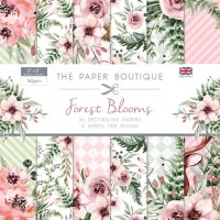 The Paper Boutique Forest Blooms 8x8 Paper Pad - DISPATCHING WEDNESDAY 24th APRIL