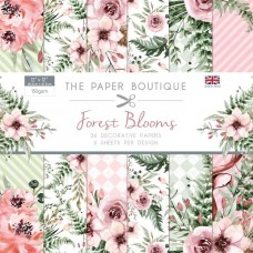 The Paper Boutique Forest Blooms 12x12 Paper Pad